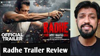 Radhe Your Most Wanted Bhai Trailer Review - Salman Khan, Disha Patani, Prabhudeva & Randeep Hooda