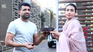 Pavitra Punia Birthday Celebration With Eijaz Khan - Cake Cutting Video