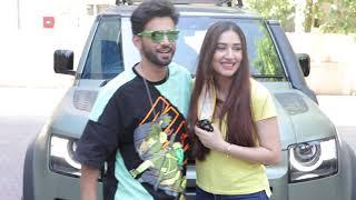 Cute Couple Rahul Vaidya & Disha Parmar Sweet Moment Together