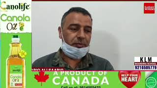 BJP District President Ganderbal Gh Hassan Rather  appeals to people to follow Covid-19 SOPs