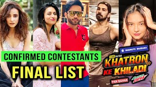 Khatron Ke Khiladi 11 CONFIRMED LIST Of Contestants Divyanka Tripathi, Rahul Vaidya, Sanaya, Abhinav