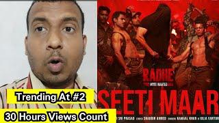 Seeti Maar Song Views Count In 30 Hours, Salman Khan 4 Videos Trending In Top 10 On YouTube