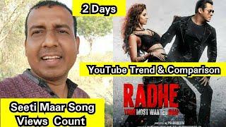 Seeti Maar Song Views Count In 2 Days, Salman Khan Song Got Great Views In 48 Hours
