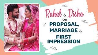 Rahul Vaidya & GF Disha Parmar's FIRST interview on their chemistry, love story, marriage & trolls