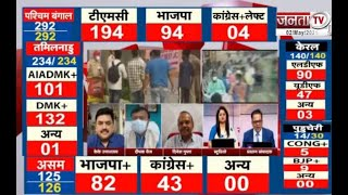 Assembly Election Result 2021 : बंगाल समेत 5 राज्यों में आज किसकी बनेगी सरकार, मतगणना जारी
