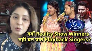 Singer Sunidhi Chauhan Ne Batayi Sachai, Kyon WINNERS Nahi Ban Pate Playback Singers | Indian Idol