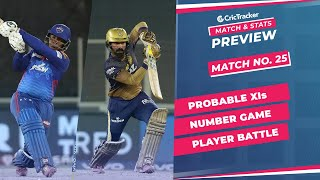 IPL 2021: Match 25, DC vs KKR Predicted Playing 11, Match Preview & Head to Head Record - April 29th