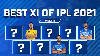 IPL 2021: Best XI From The Third Week   Kane Williamson To Captain IPL 2021 Best XI Of Week Three