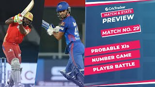 IPL 2021: Match 29, PBKS vs DC Predicted Playing 11, Match Preview & Head to Head Record - May 2nd