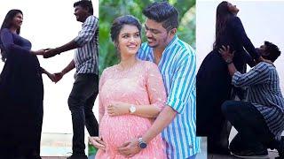 Sridevi Ashok Dancing With Husband 9 months Pregnancy Photoshoot | Sridevi Ashok Baby Bump