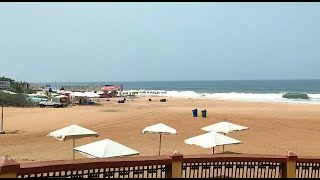 #Lockdown   Strict lockdown in Calangute, All Shops closed, Beach deserted. WATCH