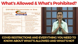 #COVID restrictions and everything you need to know about what's allowed and what's not