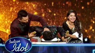 Arunita Ne Pawandeep Ka Muh Cake Me Dubo Diya, Pawandeep Birthday Celebration | Indian Idol 12