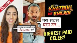Khatron Ke Khiladi 11   Rahul Vaidya & Disha Parmar Exclusive Interview   Highest Paid Celeb