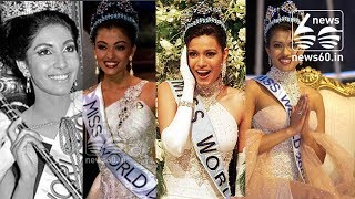India's crowned Miss World; a short history