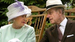 Queen Elizabeth and Prince Philip mark platinum anniversary