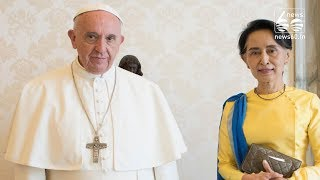 Pope Francis to tread fine line on first Myanmar visit