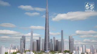 Tallest tower ;Jeddah's Kingdom Tower