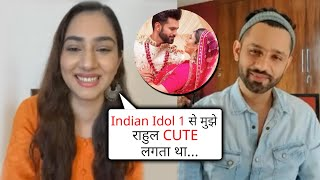 Rahul Indian Idol 1 Se Mujhe Cute Lagta Hai, Disha Parmar On Rahul Vaidya   Madhanya   Exclusive
