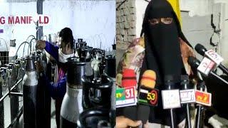 Oxygen Cylinders Na Milne Par Awaam Pareshan | Oxygen Agency Par Awaam Ki Line | Jalpally |