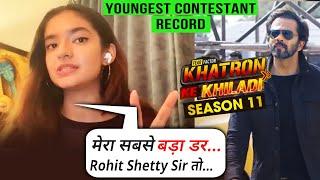Kya Hai Anushka Sen Ka Sabse Bada Darr | Exclusive Interview | Khatron Ke Khiladi 11 Rohit Shetty