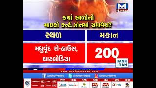 Ahmedabad: નવા 34 સ્થળોનો માઇક્રો કન્ટે.ઝોનમાં ઉમેરો   Micro-containment zones