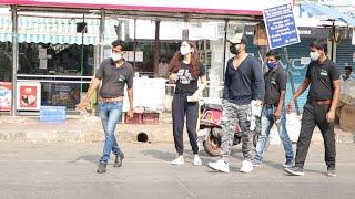 Rahul Vaidya & Disha Spotted With Security Before Leaving For South Africa | Khatron Ke Khiladi 11