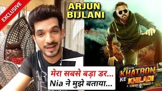 Nia Sharma Ne Di Tips, Sabse Bada Darr   Arjun Bijlani Exclusive On Khatron Ke Khiladi 11
