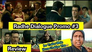 Radhe Dialogue Promo 3 Review, Jackie Shroff Takes Salman Khan Class In This Funny Promo