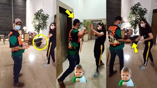 Disha Parmar Very Cutely Teasing BF Rahul Vaidya Cute and Funny Moment