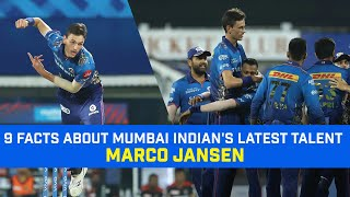 9 Facts About Marco Jansen | Story of a Young Mumbai Indian Left Arm Fast Bowler Marco Jansen