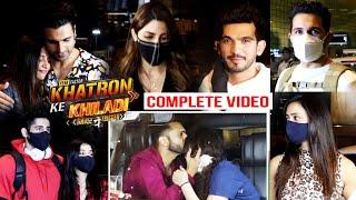 Khatron Ke Khiladi Season 11 |  Celebs Leaves For South Africa | Rahul Vaidya, Divyanka, Abhinav...