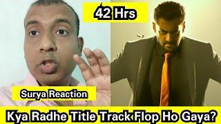 Kya Radhe Title Track Flop Ho Gaya? Radhe Track Views Count In 42 Hours, Itna Kam Views Kyun