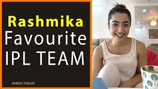 National Crush Rashmika Mandanna ne Reveal Kiya Uska Favourite IPl Team #SouthBeauty