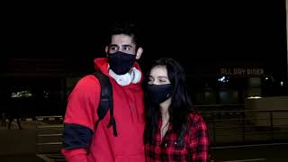 Divya Agarwal & Varun Sood Spotted At Airport For Khatron Ke Khiladi