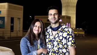 Divyanka Tripathi Dahiya & Vivek Dahiya Spotted At Airport For Khatron Ke Khiladi