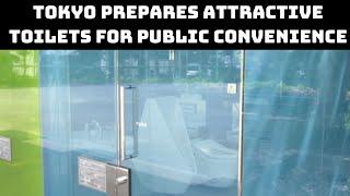 Tokyo Prepares Attractive Toilets For Public Convenience   Catch News