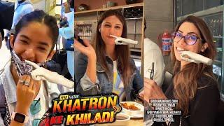 Khatron Ke Khiladi 11 | Flight Ke Dauran Anushka Sen, Nikki, Abhinav Aur Sabne Ki Masti
