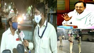 Night Curfew Extended | Sach News Special Report From Hyderabad During Night Curfew |