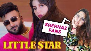 LITTLE STAR (Video)   Reaction   Shehbaz Badesha   Giorgia Andriani   GSkillz   Shehnaaz Gill