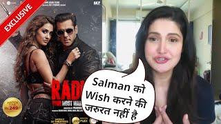 Salman Khan Ke RADHE Par Kya Boli Actress Zareen Khan - Exclusive Reaction
