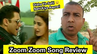 Zoom Zoom Song Review, Disha Patani Need To Up Her Game To Match With Salman Khan