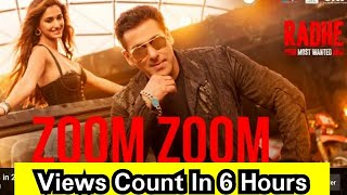 Zoom Zoom Song Views Count In 6 Hours, Radhe Title Track Ke Baad Firse Naya Issue