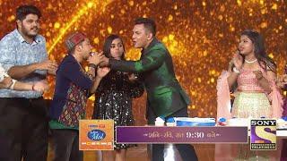 Indian Idol 12 Golden Jubilee Celebration | Aditya Narayan Ne Pawandeep Aur Sabko Khilaya Cake