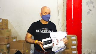 Anupam Kher Launch Project Heal India To Support Covid Warriors