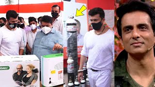 Bollywood Ke Bade Stars Sikho ???? Sonu Nigam & Sonu Sood Se Giving oxygen And Ventilators For People ????