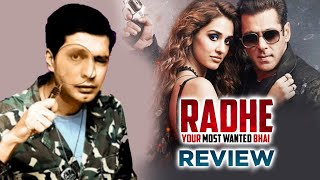 RADHE Review | Salman Khan | Disha Patani | Randeep Hooda | By RJ Divya Solgama