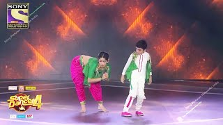 Super Dancer 4 Promo | Vartika Aur Sanchit Ne Lagai Performance Se Aag