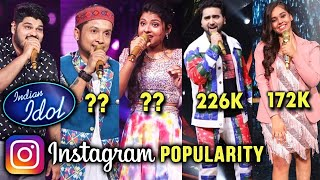 Indian Idol 12 | Kaun Hai Instagram Par Sabse Popular Contestants? | Pawandeep, Arunita, Danish