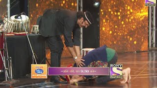 Pawandeep ने छुए ढोलक वादक Girish Da के पैर, Pawandeep को मिला तौफा | Indian Idol 12